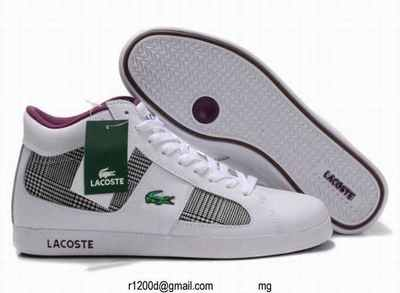 Promo Marron Homme Lacoste chaussures Chaussure AR5q3Lc4j