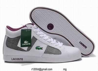 4b6bdf7332f89 Promo chaussures Homme Lacoste Marron Chaussure y6Yb7vfg