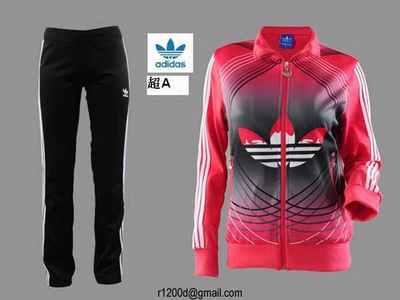 jogging adidas ensemble femme