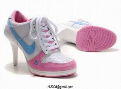 A Talons Nike hauteur basket Chaussures Femme Dunk Talon Des knwP0O