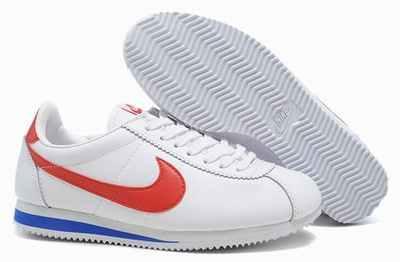 Nike Blanche Bleu Rouge