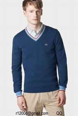 pull pull Taille Pull Grande Vintage Lacoste Homme zUSVMpq
