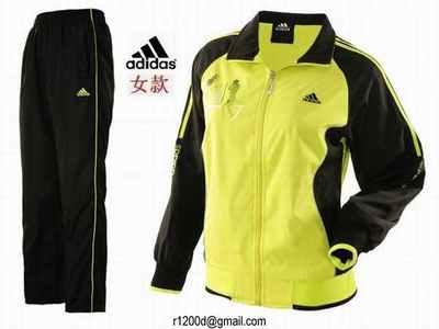 jogging adidas jaune femme