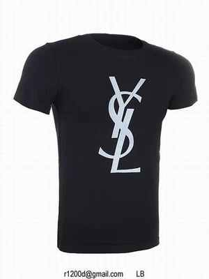 t shirt yves saint laurent homme. Black Bedroom Furniture Sets. Home Design Ideas